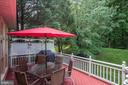 Deck off of sunroom - 47297 OX BOW CIR, STERLING