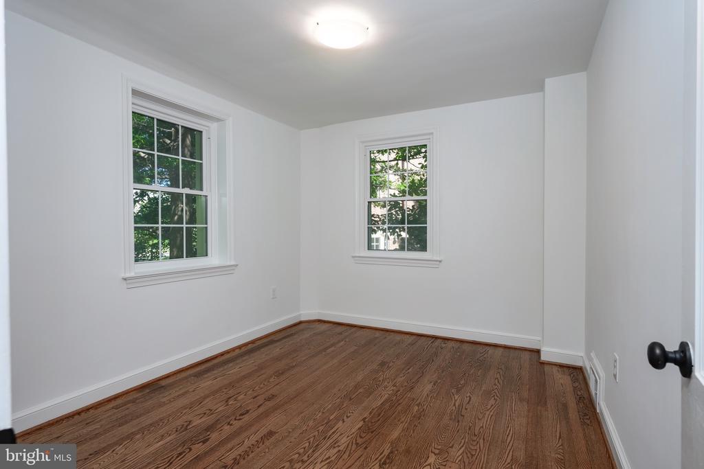 Bedroom with hardwood floors - 4861 BLAGDEN AVE NW, WASHINGTON