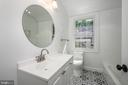 Remodeled Bathroom w/ custom tile work - 4861 BLAGDEN AVE NW, WASHINGTON