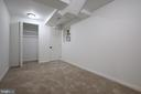 Lower Level Bedroom or Office - 4861 BLAGDEN AVE NW, WASHINGTON