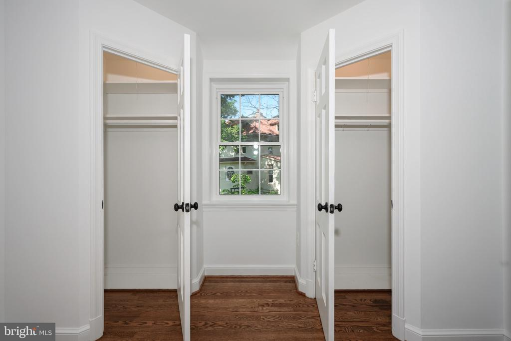 Master Bedroom with his and hers walk-in closets - 4861 BLAGDEN AVE NW, WASHINGTON