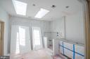 Lux mst bath w/soaking tub, sep shower, cust tile. - 12602 THOMPSON RD, FAIRFAX