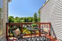 Deck off the Kitchen Overlooking the Pond - 21252 HEDGEROW TER, ASHBURN