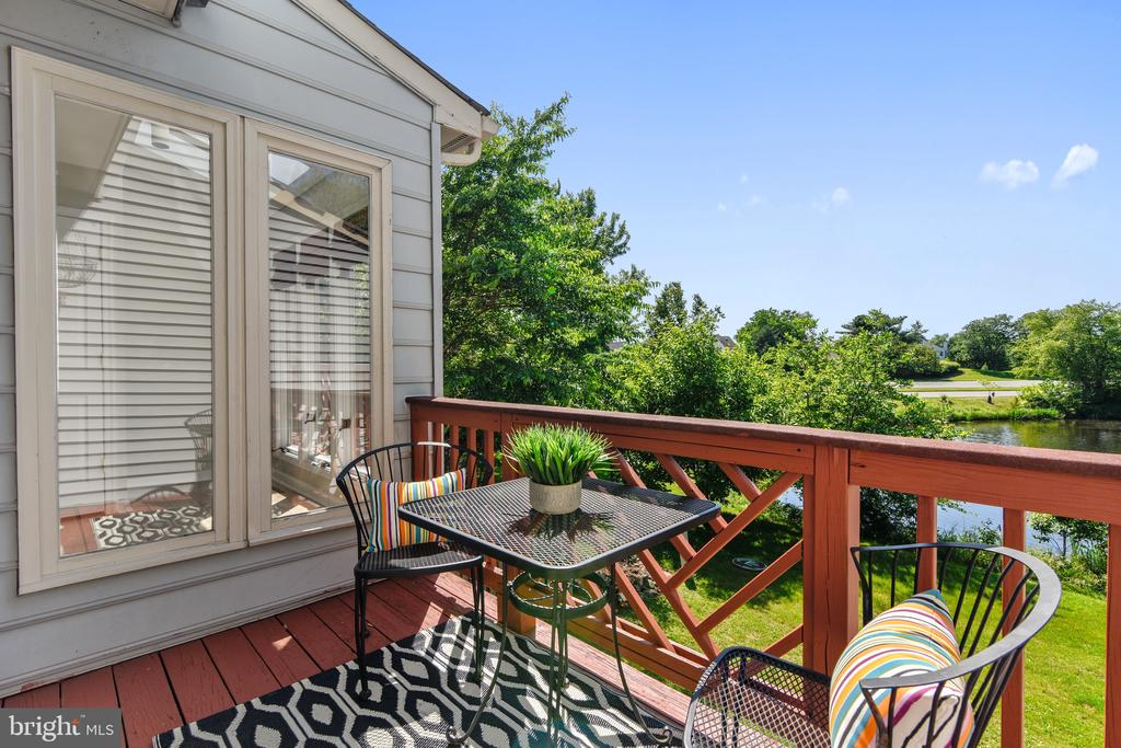 Upper Level Deck w/ Pond Views - 21252 HEDGEROW TER, ASHBURN