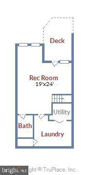 Lower Level Floor plan - 21252 HEDGEROW TER, ASHBURN