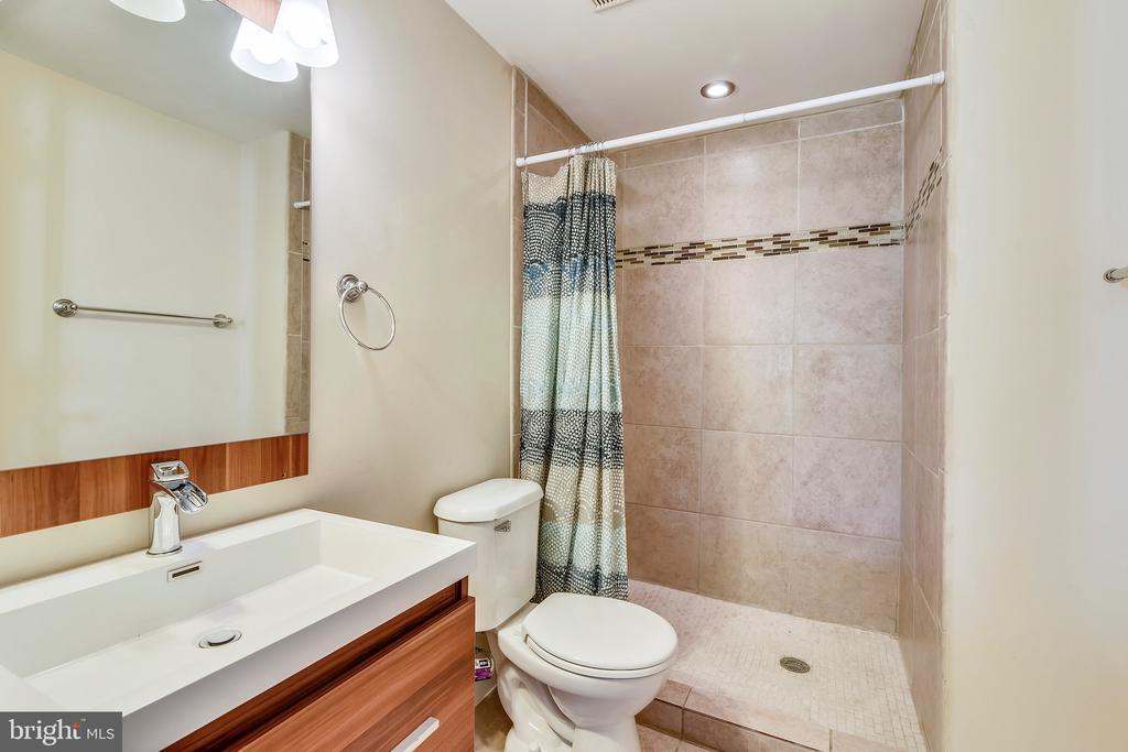 Lower Level Full Bath - 21252 HEDGEROW TER, ASHBURN