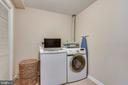 Laundry Room with TONS of Storage - 21252 HEDGEROW TER, ASHBURN