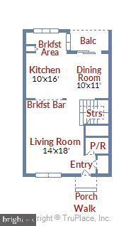 Main Level Floor Plan - 21252 HEDGEROW TER, ASHBURN