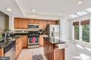 Open Concept Kitchen - 21252 HEDGEROW TER, ASHBURN