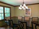 Dining Room - 1602 MONTMORENCY DR, VIENNA
