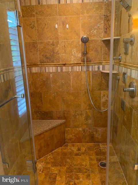 Master Bathroom Shower - 1602 MONTMORENCY DR, VIENNA