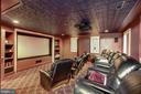 Lower Level Media Room - 3812 MILITARY RD, ARLINGTON