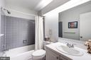 Hall bath - 2272 COMPASS POINT LN, RESTON