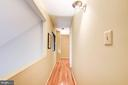 Upstairs hallway with overlook to family room - 2272 COMPASS POINT LN, RESTON