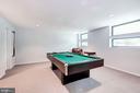 Lower level recreation room - 2272 COMPASS POINT LN, RESTON