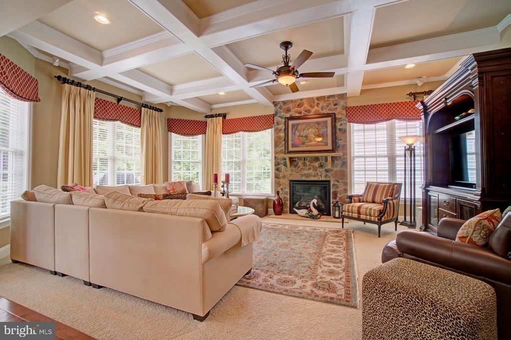 Room to Spread Out in this Spacious Great Room - 42436 MORELAND POINT CT, ASHBURN