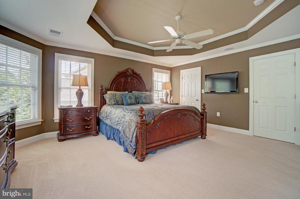 Owner's Bedroom has a Tray Ceiling - 42436 MORELAND POINT CT, ASHBURN