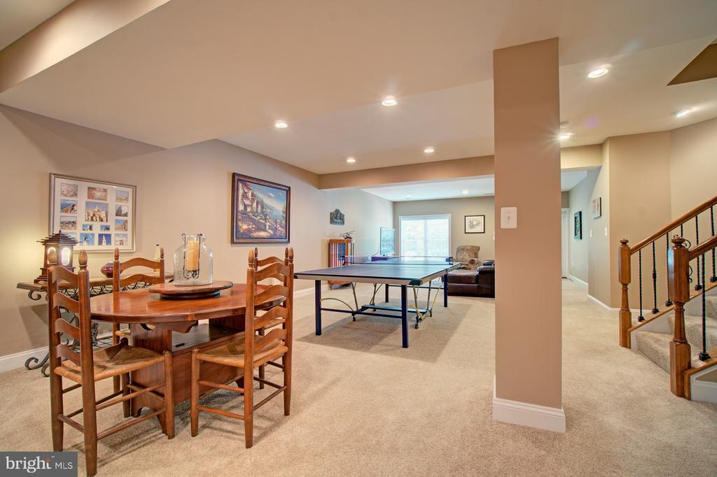 Family has an Abundance of Recessed Lighting - 42436 MORELAND POINT CT, ASHBURN