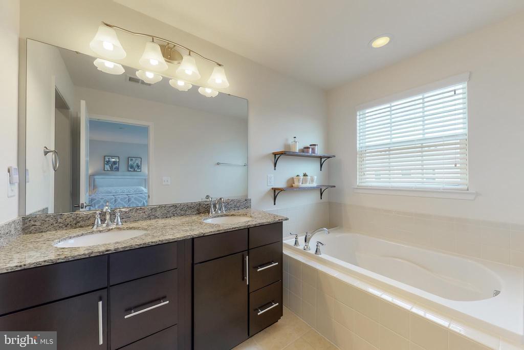 Master bath - dual vanities and tub - 41879 COUNTRY INN TER, ALDIE