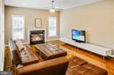 Main level family room - 4617 HOLIDAY LN, FAIRFAX