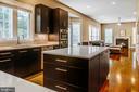 Custom designed kitchen - 4617 HOLIDAY LN, FAIRFAX
