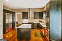Custom cabinets w/ Sub-Zero and Miele appliances - 4617 HOLIDAY LN, FAIRFAX