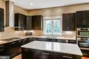 Silestone counters with diamond sparkles - 4617 HOLIDAY LN, FAIRFAX
