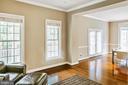 Formal living room - 4617 HOLIDAY LN, FAIRFAX