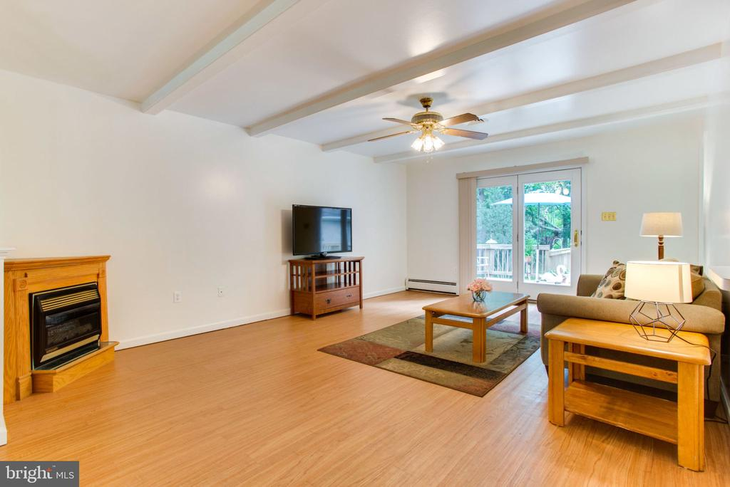 Great Room with Gas Fireplace - 6800 TOKEN VALLEY RD, MANASSAS