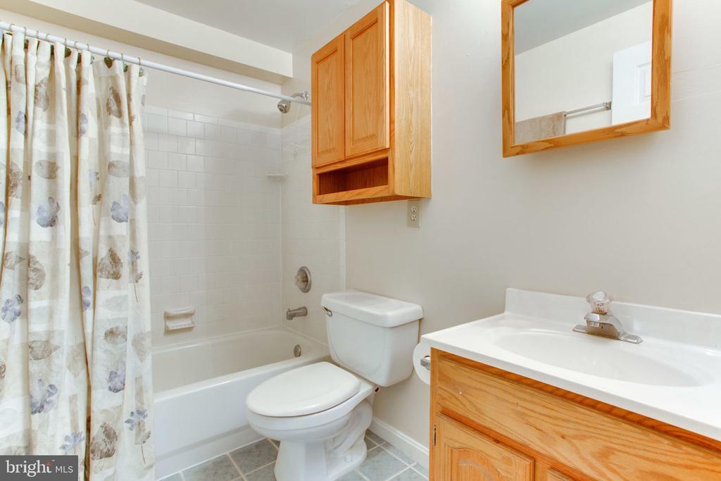 Full Bath in Basement - 6800 TOKEN VALLEY RD, MANASSAS