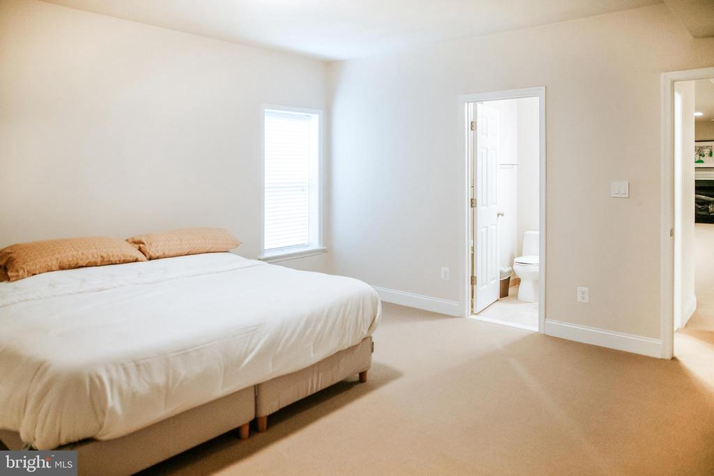 Lower Level bedroom w/ private entrance - 4617 HOLIDAY LN, FAIRFAX