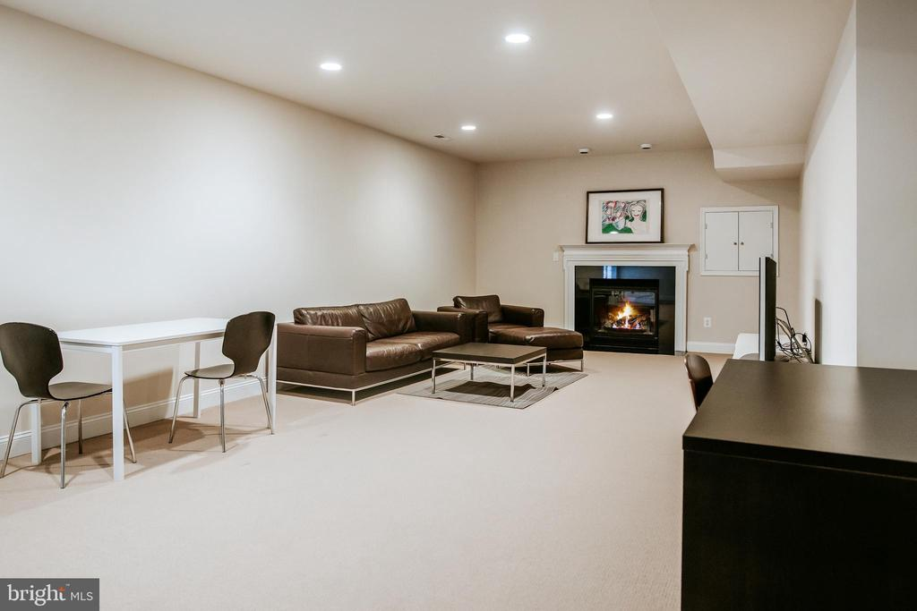 Lower Level living space- private entrance - 4617 HOLIDAY LN, FAIRFAX