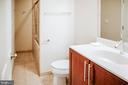 Lower level bathroom -tub/shower - 4617 HOLIDAY LN, FAIRFAX