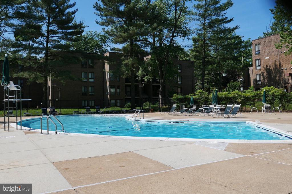 In ground pool - 11236 CHESTNUT GROVE SQ #161, RESTON