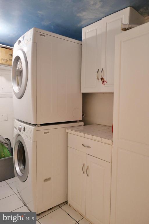 Laundry Room - 11236 CHESTNUT GROVE SQ #161, RESTON