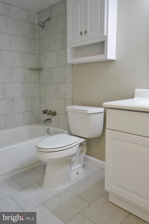 Updated Master Bath - 11236 CHESTNUT GROVE SQ #161, RESTON