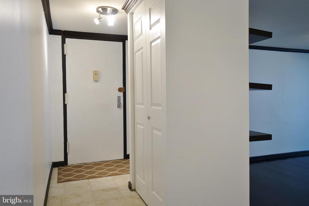 Foyer/Entry - 11236 CHESTNUT GROVE SQ #161, RESTON