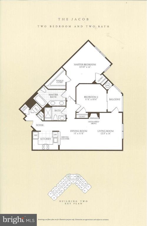 Floor Plan - 1645 INTERNATIONAL DR #109, MCLEAN