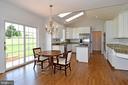 Breakfast area between family room and kitchen - 42324 BIG SPRINGS CT, LEESBURG