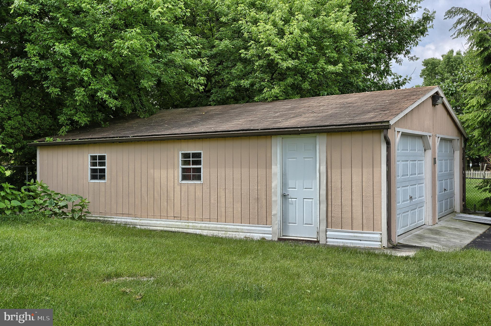 fourth garage on west side of property