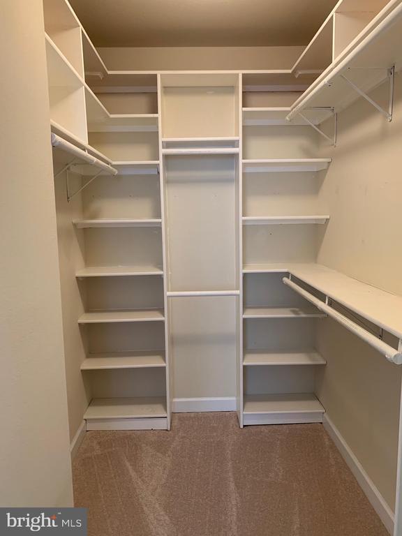 Custom master closet system - 42421 ROCKROSE SQ #202, BRAMBLETON
