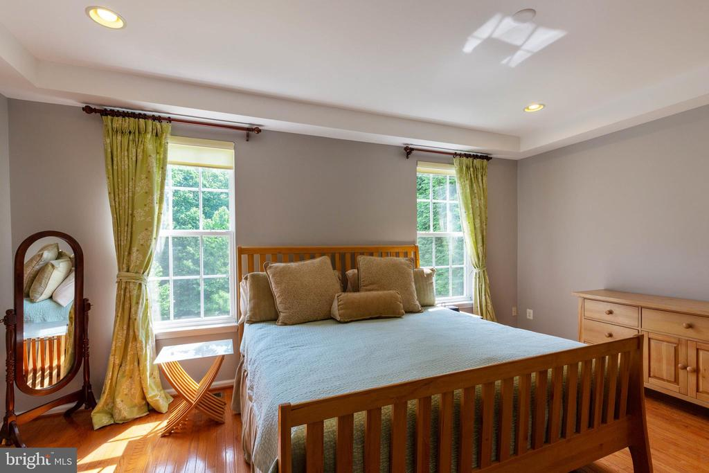 Master Suite with Tray Ceiling - 9413 PRIMROSE LN, MANASSAS PARK