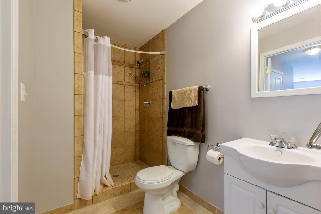 Lower Level Full Bath - 9413 PRIMROSE LN, MANASSAS PARK