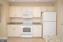 Kitchen with Brand New Granite Counters - 3 WORTHINGTON CT, STERLING