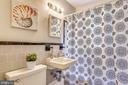 One full size bathroom - 4100 W ST NW #515, WASHINGTON
