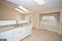Kitchen w/Brand New Granite Counters - 3 WORTHINGTON CT, STERLING