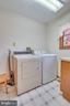 hookups and cabinetry for storage - 803 HORIZON WAY, MARTINSBURG