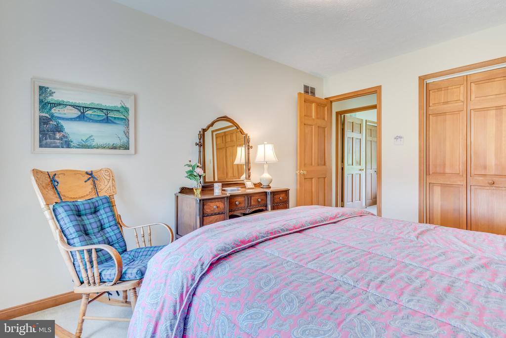 Bedroom 1 has neutral carpet and paint - 803 HORIZON WAY, MARTINSBURG
