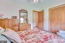Bedroom 2 has neutral carpet and paint - 803 HORIZON WAY, MARTINSBURG