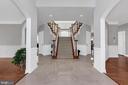 Foyer View - 18131 PERTHSHIRE CT, LEESBURG